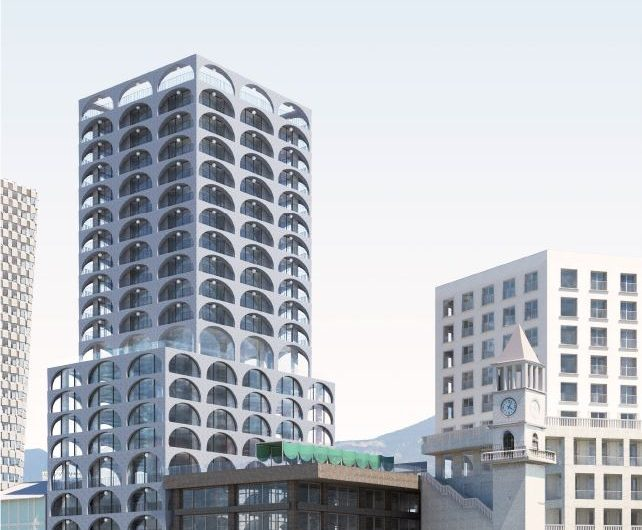Apartamente, Zyra dhe Njesi Tregtare per shitje ne nje nga projektet me moderne te Tiranes, Book Building.